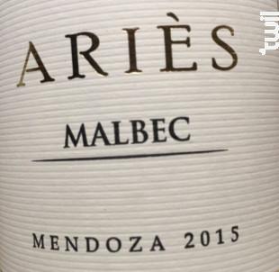 Ariès - Bernard Magrez - 2018 - Rouge