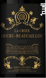 La Croix Ducru Beaucaillou - Château Ducru-Beaucaillou - 2016 - Rouge