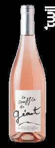 Souffle du Géant - Vin issu de la Réserve de la Biosphère du Mont Ventoux - Caravinsérail - La Maison de Cascavel - 2019 - Rosé