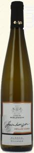 Sylvaner Vieilles Vignes - Cave de Beblenheim - 2015 - Blanc