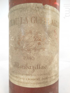 Château La Gueylardie - Château La Gueylardie - 1986 - Blanc
