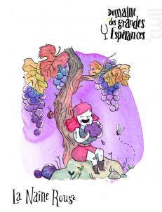 La Naine Rouge - Maison SAGET LA PERRIERE - Domaines des Grandes Espérances - 2014 - Rouge