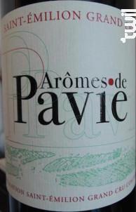 Arômes de Pavie - Château Pavie - 2012 - Rouge