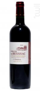 L'Initial - Domaine de Beyssac - 2011 - Rouge