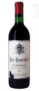 Clos Beauregard - Clos Beauregard - 1971 - Rouge