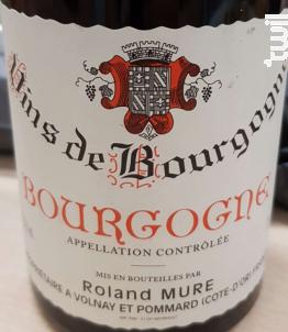 Bourgogne - Jean Vaudoisey-Berget - 2016 - Rouge