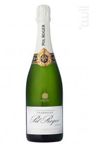 Extra Cuvée de Réserve Brut - Champagne Pol Roger - Non millésimé - Effervescent