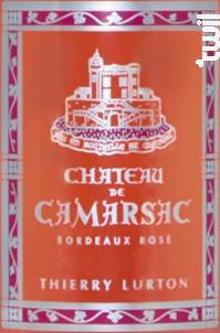 Château de Camarsac - Rosé - Château de Camarsac - 2016 - Rosé