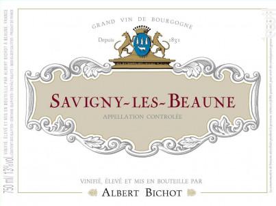 Savigny-lès-Beaune - Albert Bichot - 2017 - Rouge