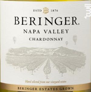 Napa Valley Chardonnay - Beringer Vineyards - 2012 - Blanc