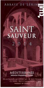 Saint-Sauveur - Abbaye de Lérins - 2014 - Rouge