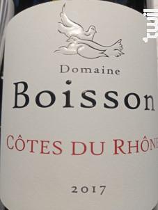 Côtes du Rhône - Domaine Boisson - 2017 - Rouge