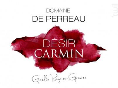 Désir Carmin - Montravel - Domaine de Perreau - 2015 - Rouge