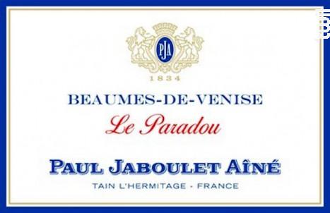 Le Paradou - Paul Jaboulet Aîné - 2016 - Rouge
