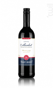 Merlot - Sans alcool - Night Orient - Non millésimé - Rouge