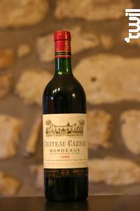 Château Cazeau - Maison Le Star - Château Cazeau - 1988 - Rouge