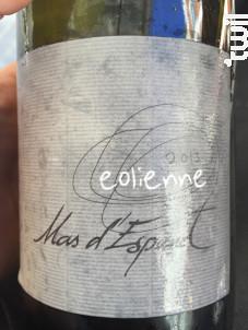 Eolienne - Mas d'Espanet - 2017 - Blanc