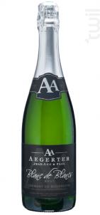 Crémant de Bourgogne Blanc de Blancs - Jean Luc et Paul Aegerter - Non millésimé - Effervescent