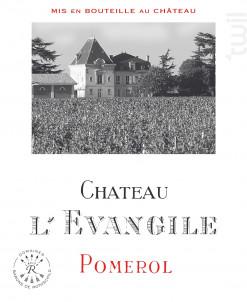 Château L'Evangile - Domaines Barons de Rothschild - Château L'Evangile - 2018 - Rouge
