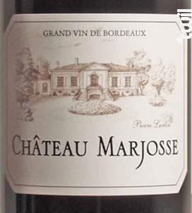 Château Marjosse - Château Marjosse - 2016 - Rouge
