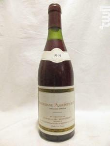 Passetoutgrain - Domaine de Montmain - 1991 - Rouge