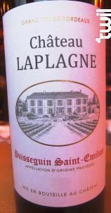 Château Laplagne - Château Laplagne - 2014 - Rouge