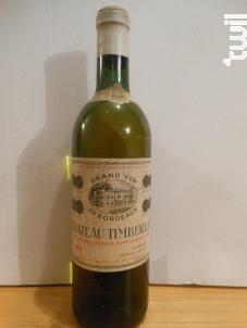 Château Timberlay Bordeaux - Château Timberlay - 1964 - Blanc