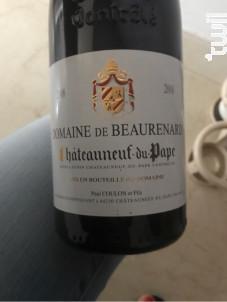 Châteauneuf-du-Pape - Domaine de Beaurenard - 2008 - Rouge