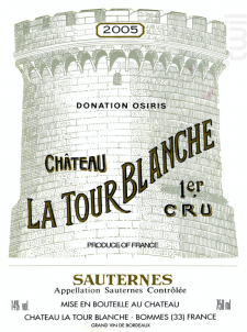 Château La Tour Blanche - Château La Tour Blanche - 2002 - Blanc