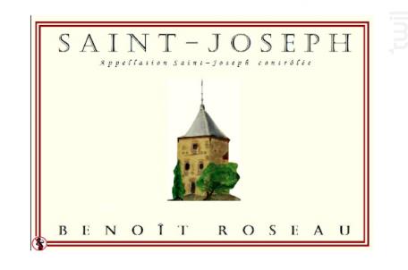 Saint-Joseph - Domaine Benoît ROSEAU - Clos du pigeonnier - 2016 - Blanc
