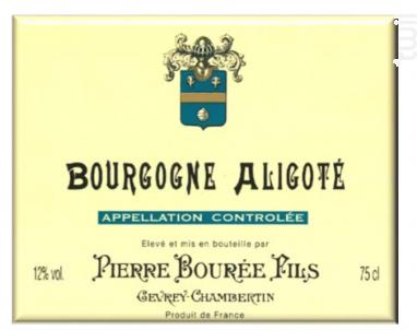 BOURGOGNE ALIGOTE - Pierre Bourée Fils - 2014 - Blanc