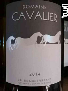 Domaine Cavalier - Château de Lascaux - 2016 - Rouge
