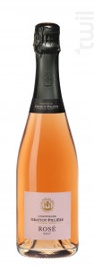 Brut rosé - Champagne Gratiot-Pillière - Non millésimé - Effervescent