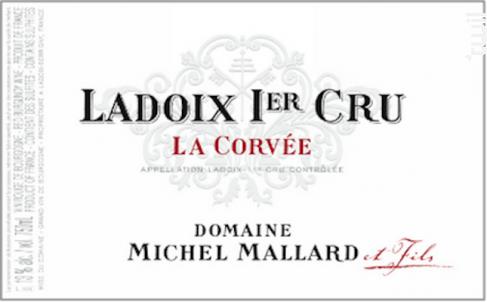Ladoix 1er Cru La Corvée - Domaine Michel Mallard et Fils - 2014 - Rouge