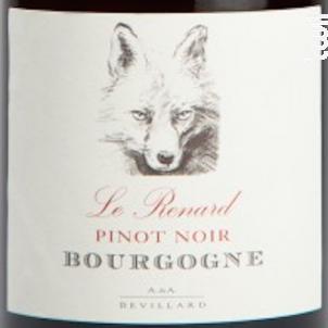 Le Renard Pinot Noir - Le Renard - Domaines Devillard - 2016 - Rouge