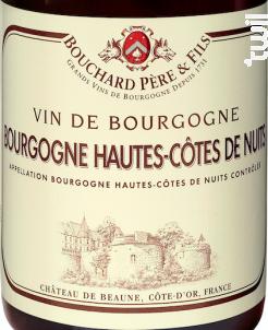 Bourgogne Hautes-côtes De Nuits - Bouchard Père & Fils - 2016 - Rouge