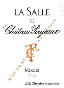 La Salle de Château Poujeaux - Château Poujeaux - 2013 - Rouge