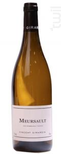 Meursault Les Rougeots - Vincent Girardin - 2013 - Blanc
