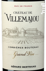 Château de Villemajou Grand Vin - Maison Gérard Bertrand - 2014 - Rouge