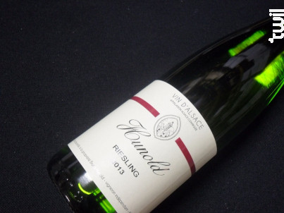 Domaine  Hunold Riesling - Domaine Bruno Hunold - 2015 - Blanc