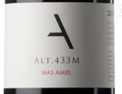 ALT. 433M - Mas Amiel - 2016 - Rouge