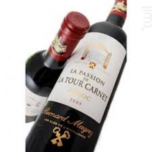 La Passion de La Tour Carnet - Bernard Magrez - Château La Tour Carnet - 2009 - Rouge