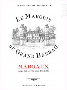 Marquis Du Grand Barrail