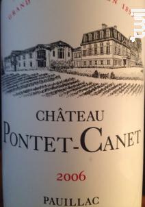 Château Pontet-Canet - Château Pontet-Canet - 2006 - Rouge
