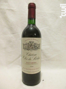 Château Clos du Relais - Château Clos du Relais - 1992 - Rouge