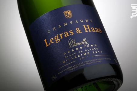 Blanc de Blancs Millésime 2011 Brut - Legras & Haas - 2011 - Effervescent