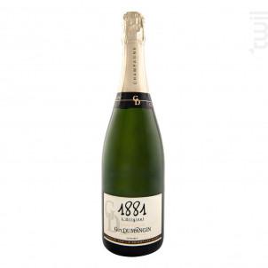 Extra-brut 1er Cru 1881 - Champagne Guy Dumangin - Non millésimé - Effervescent