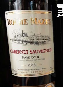 Cabernet Sauvignon - Roche Mazet - 2018 - Rouge