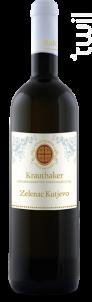Zelenac Kutjevo - Domaine Krauthaker - 2015 - Blanc