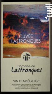 Cuvée Lastronques - Domaine de Lastronques - 2016 - Rouge